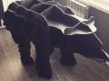 Медведь-стеллаж из фанеры